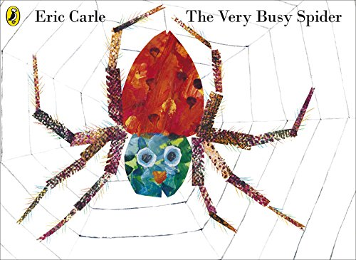 9780141338323: The Very Busy Spider. Eric Carle