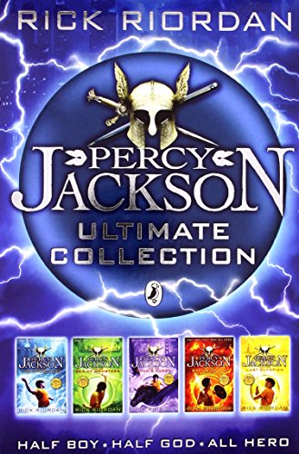 9780141339887: Percy Jackson Collection, - The Lightning Thief, the Last Olympian, Titans Curse, Battle of the Labyrinth