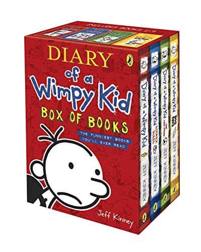9780141341415: Diary of a Wimpy Kid Box of Books