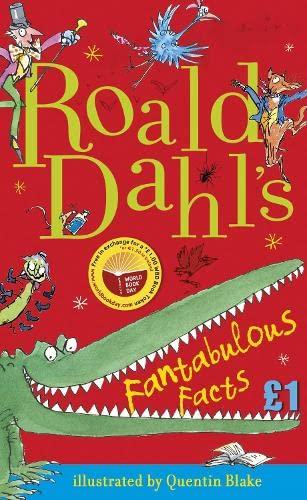Roald Dahl's Fantabulous Facts: World Book Day: Roald Dahl