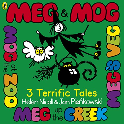 9780141343631: Meg & Mog: Three Terrific Tales