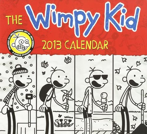 9780141344881: The Wimpy Kid Calendar 2013