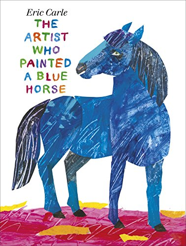 9780141348131: The Artist Who Painted a Blue Horse (Picture Puffins)