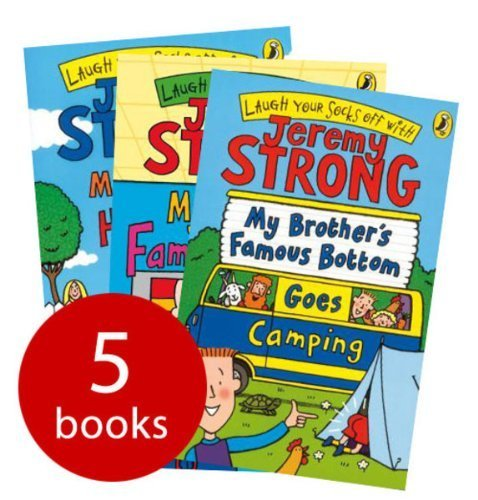 9780141349329: Jeremy Strong Collection - 5 Books