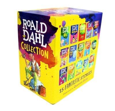 9780141349985: Roald Dahl Collection - 15 Paperback Book Boxed Set