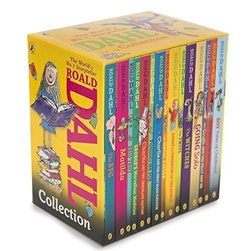9780141349985: Roald Dahl Collection - 15 Paperback Book Boxed Set