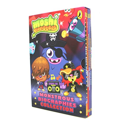 9780141350332: Moshi Monsters Monstrous Biographies Col