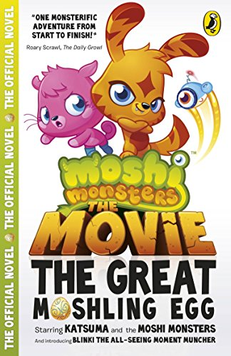 9780141350691: Moshi Monsters: The Movie: The Great Moshling Egg