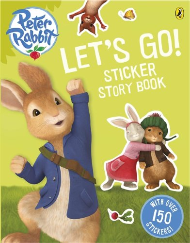 9780141350950: Peter Rabbit Animation: Let's Go! Sticker Story Book