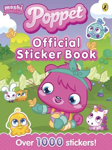 9780141351490: Moshi Monsters: Poppet Official Sticker Book