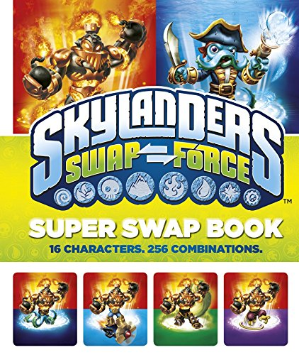 9780141351568: Skylanders SWAP Force: Super Swap Book