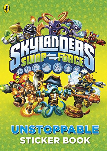 Skylanders Swap Force: Unstoppable Sticker Activity Book: aa vv