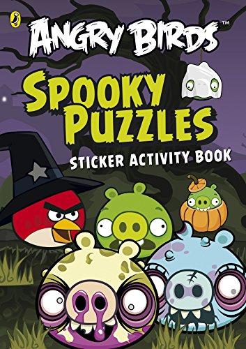 9780141352008: Angry Birds: Spooky Puzzles Sticker Activity Book