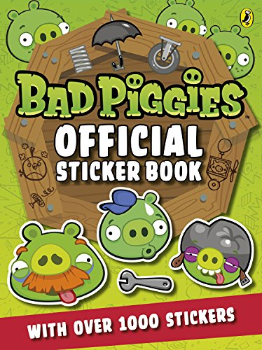 9780141352121: Angry Birds: Bad Piggies Official Sticker Book