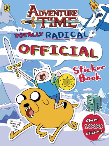 9780141352251: Adventure Time: The Totally Radical Official Sticker Book