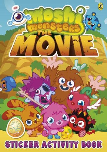 9780141352282: Moshi Monsters: The Movie Sticker Book