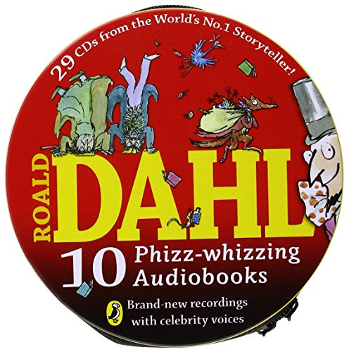 9780141352343: Roald Dahl: 10 Phizz-whizzing Audiobooks, 29 CD Collection Audio CD – 2014