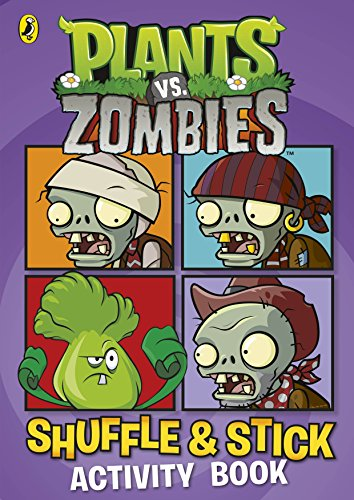 9780141352527: Plants vs. Zombies: Shuffle & Stick Activity Book