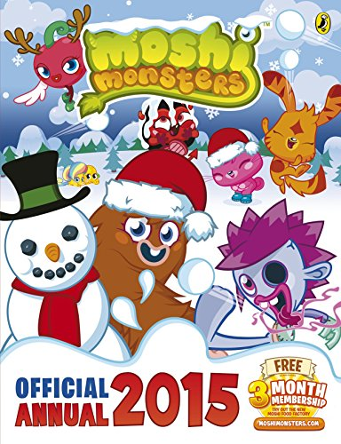 9780141352756: Moshi Monsters Official Annual 2015