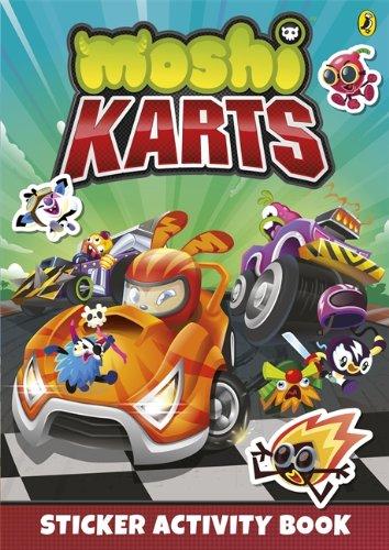 9780141353517: Moshi Karts Sticker Activity Book (Moshi Monsters)