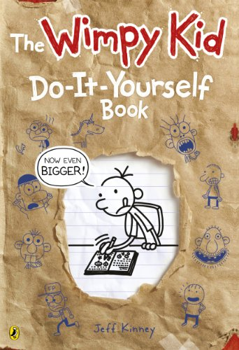 9780141355108: Diary of a Wimpy Kid: Do-It-Yourself Book *NEW large format*