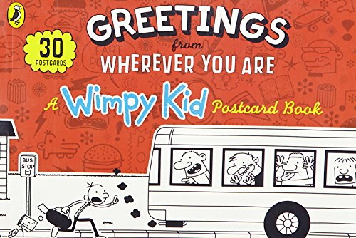 9780141355115: Greetings from Wherever You Are: A Wimpy Kid Postcard Book