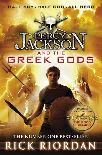 9780141355412: Percy Jackson and the Greek Gods (Percy Jackson's Greek Myths)