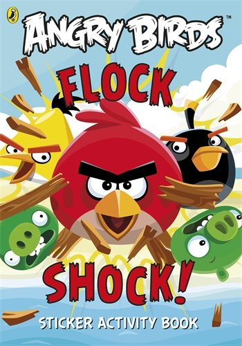 9780141355641: Angry Birds: Flock Shock! Sticker Activity Book