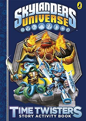 9780141355993: Skylanders: Time Twisters Story Activity Book