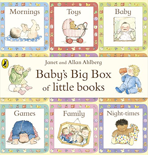 9780141356488: BABY'S BIG BOX OF LITTLE BOOKS SET OF 9 CHUNKY BOARD BOOKS
