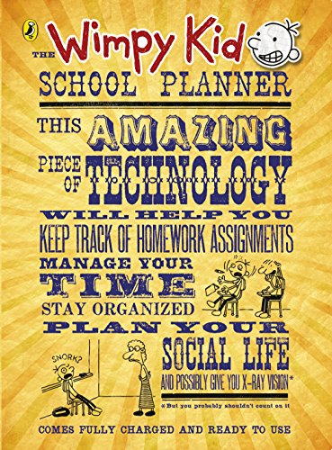 9780141356914: The Wimpy Kid School Planner