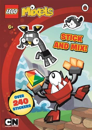 9780141357218: LEGO Mixels: Stick and Mix Sticker Activity Book