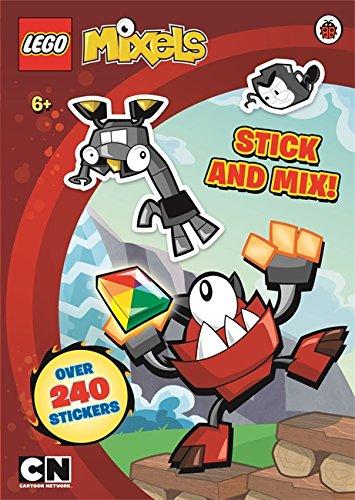 9780141357218: LEGO Mixels: Stick and Mix Sticker Activity Book