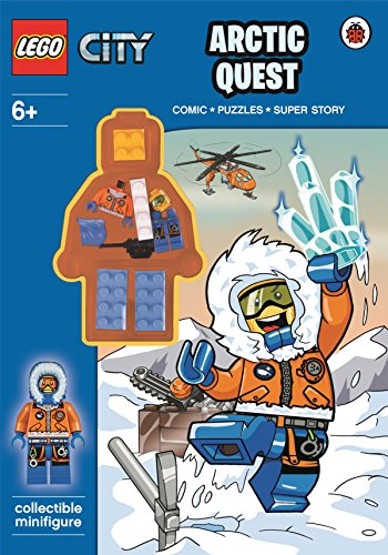 9780141357225: LEGO City: Arctic Quest Activity Book With Minifigure