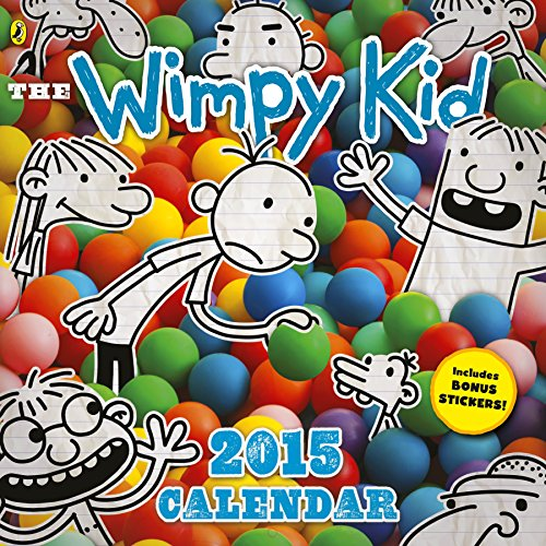 9780141357256: Diary of a Wimpy Kid calendar 2015