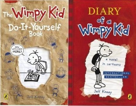 9780141357423: Diary of a Wimpy Kid 2 vol. box set: Diary of a Wimpy Kid, The Wimpy Kid Do-It-Yourself Book