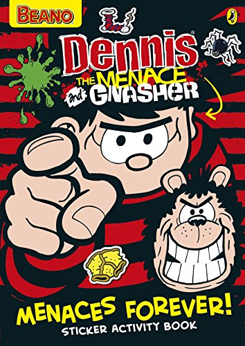 9780141357478: Dennis the Menace: Menaces Forever! Sticker Activity Book