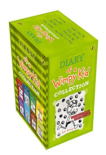 9780141358000: Diary Of A Wimpy Kid 8 Books Slipcase