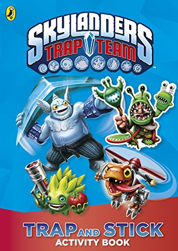 9780141358536: Skylanders Trap Team: Trap and Stick Activity Book