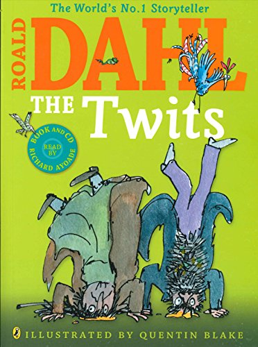 9780141358666: The Twits(Colour Book and CD)