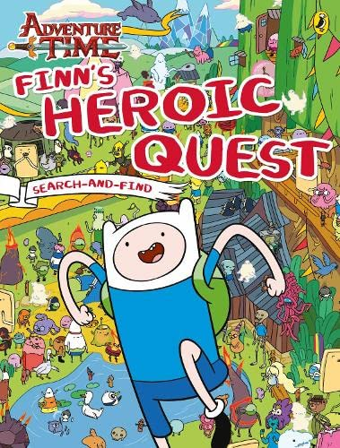 9780141358734: Adventure Time: Finn's Heroic Quest Search-and-Find