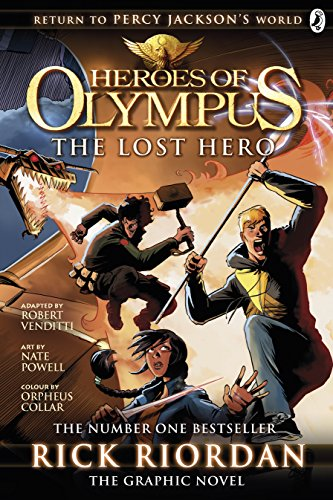 9780141359984: The Lost Hero: The Graphic Novel (Heroes of Olympus Book 1) (Heroes of Olympus Graphic Novels)