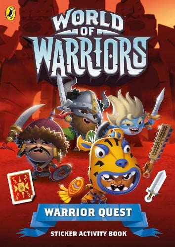 9780141360300: World of Warriors: Warrior Quest Sticker Activity Book