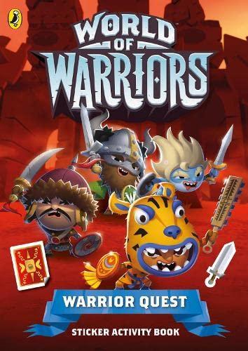 9780141360300: Warrior Quest Sticker Activity Book (World of Warriors)