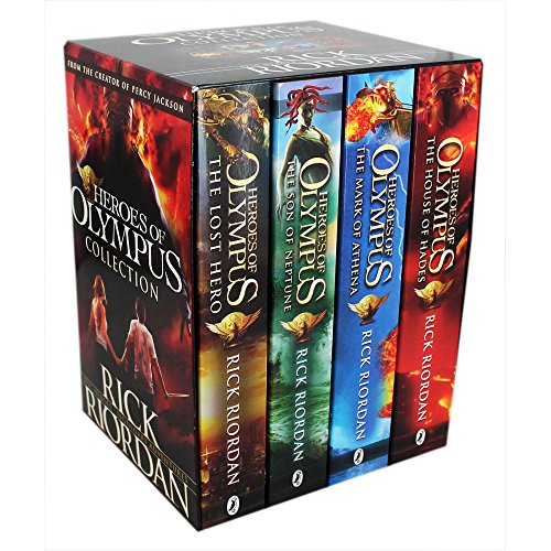 9780141361970: 4 Book Heroes of Olympus Slipcase