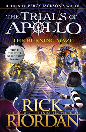 9780141364018: The Burning Maze (The Trials of Apollo Book 3)