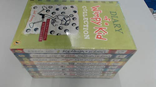 9780141365053: Diary of a Wimpy Kid 9 Book Slipcase (Red)