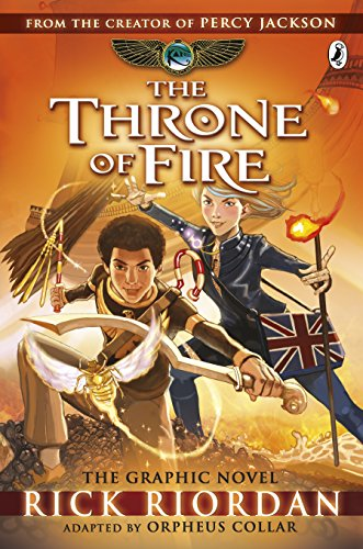 9780141366586: The Kane Chronicles: The Throne of Fire: The Graphic Novel (Kane Chronicles Graphic Novels)