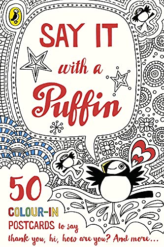 9780141368603: Say It With a Puffin: 50 Colour-In Postcards