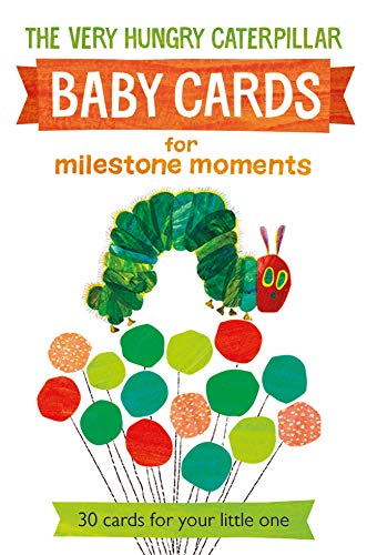 9780141368818: Very Hungry Caterpillar Baby Cards for Milestone Moments